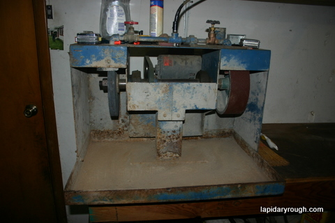 Lapidary shop equipment I use