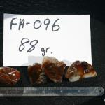 Deer Cr. AZ. Fire agate rough. Widow rough and select pieces.