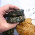 Brazilian agate rough, whole & broken pieces. Stock is pre-1962 ship date to USA
